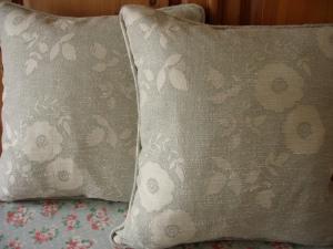 comissioned cushion