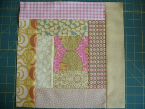 Quilt around the world bee